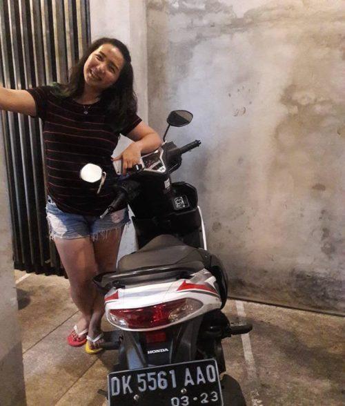 Rental Motor Matic di Bali