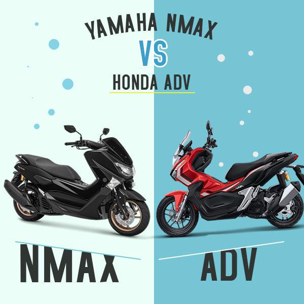 Yamaha NMAX VS Honda ADV